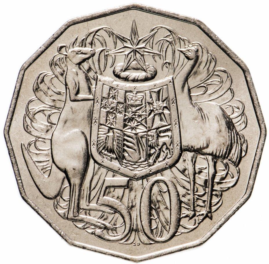 купить Австралия 50 центов 1981