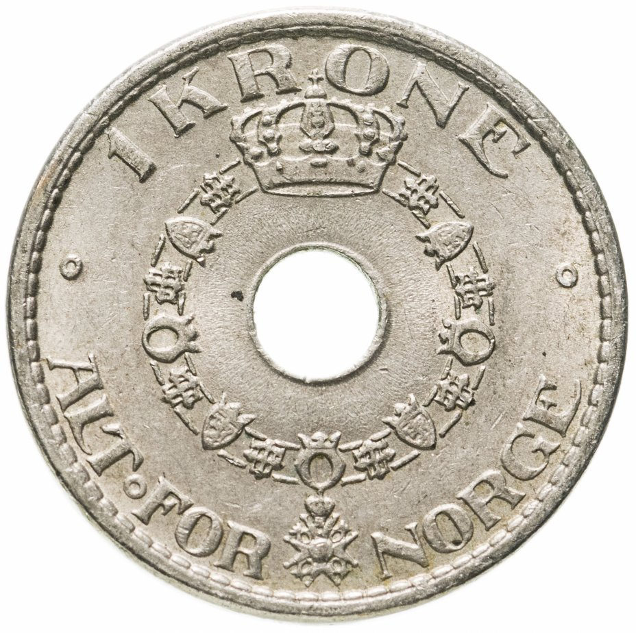 купить Норвегия 1 крона (krone) 1940