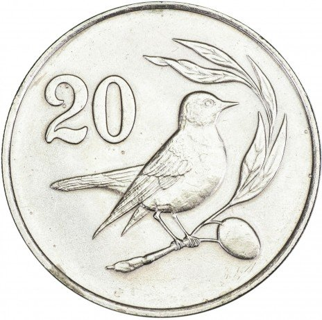 купить Кипр 20 центов 1983