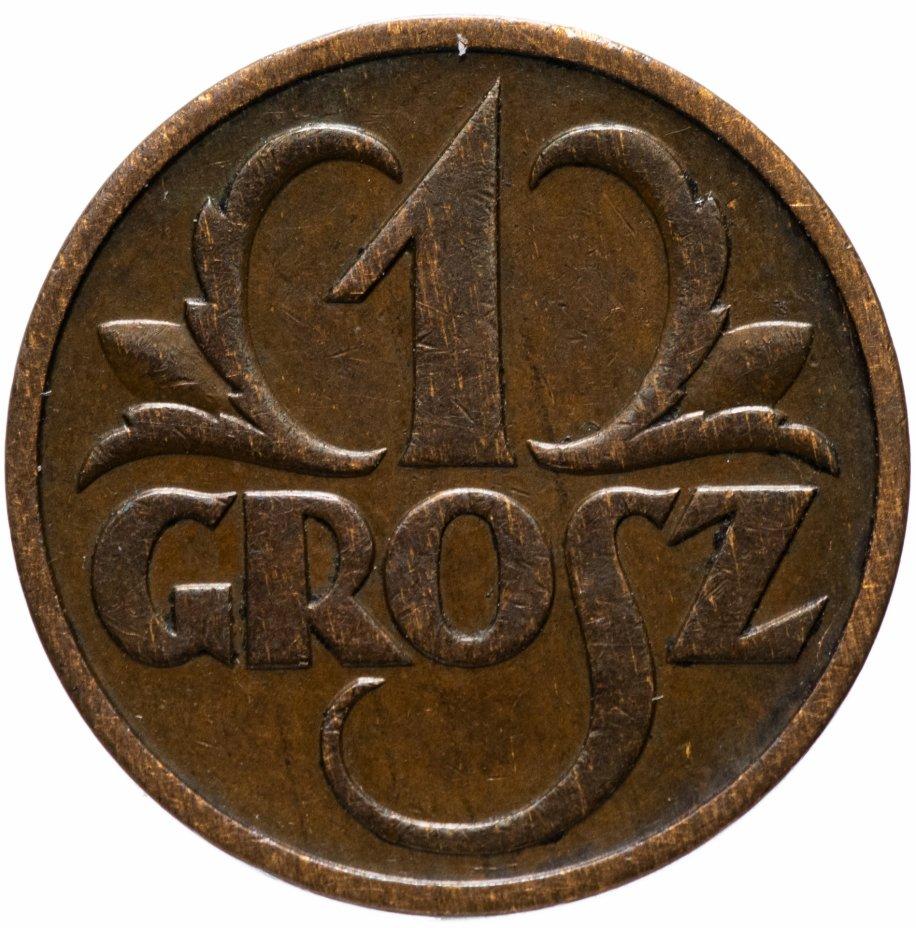 купить Польша 1 грош 1938