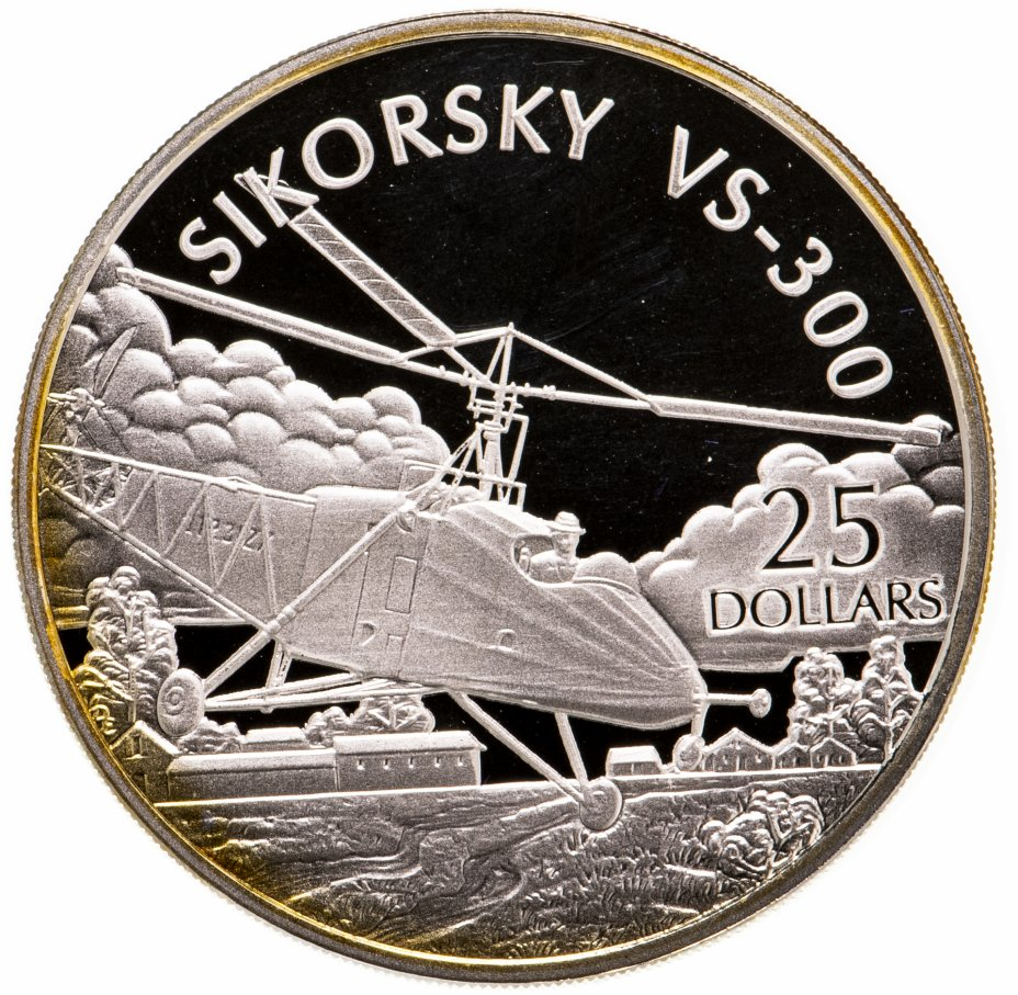 купить Соломоновы Острова 25 долларов (dollars) 2003  Самолёты - Sikorsky S-30