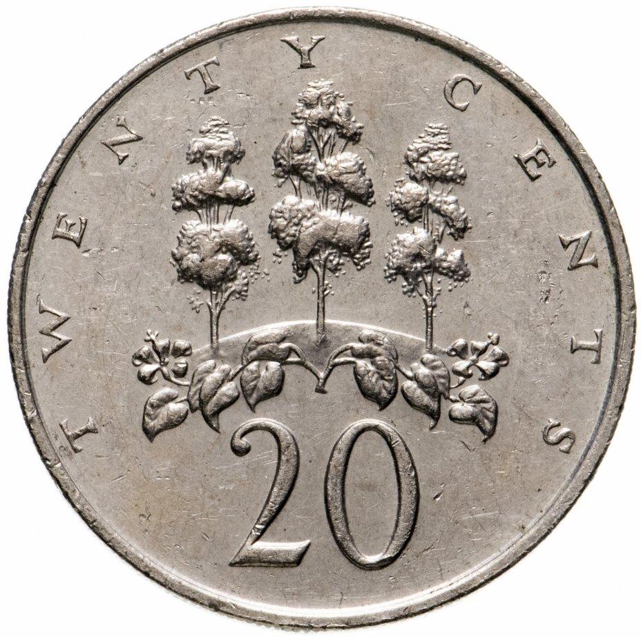 купить Ямайка 20 центов (cents) 1989