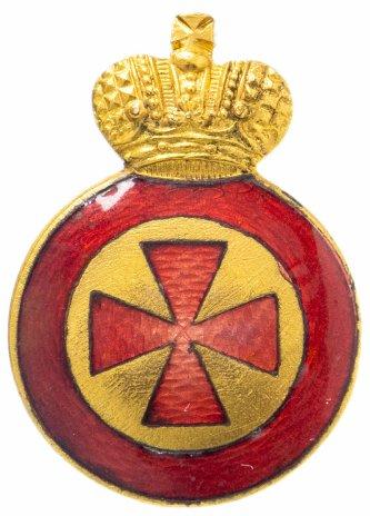 купить Знак ордена Святой Анны 4-й степени за военные заслуги для ношения на оружии, в футляре