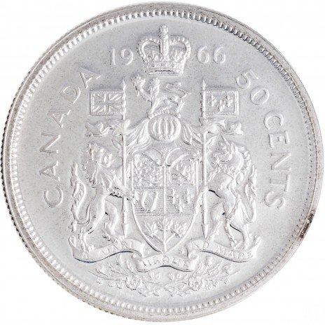 купить Канада 50 центов 1966