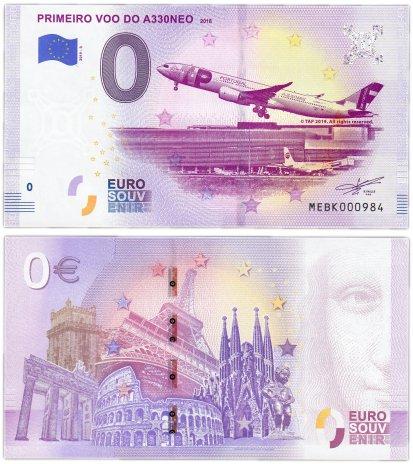 """купить 0 евро (euro) """"Первый рейс A330NEO"""" 2019 3-я серия (NEW)"""