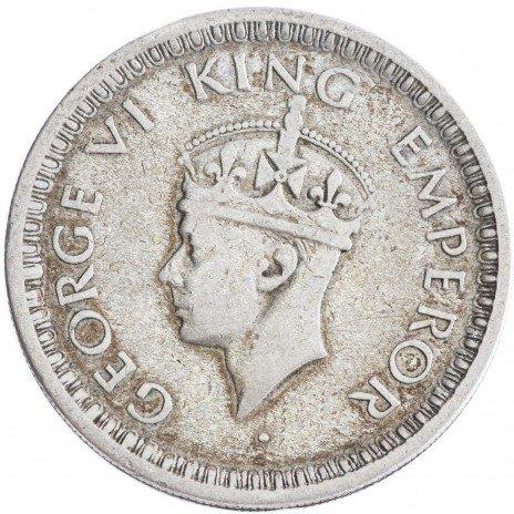 купить Индия 1/2 рупии 1944