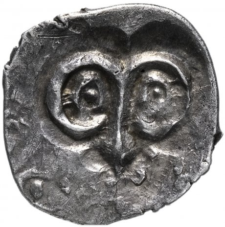 купить Великое Княжество Рязанское денга 1400-1407 Рязанская тамга/Ф-образная тамга