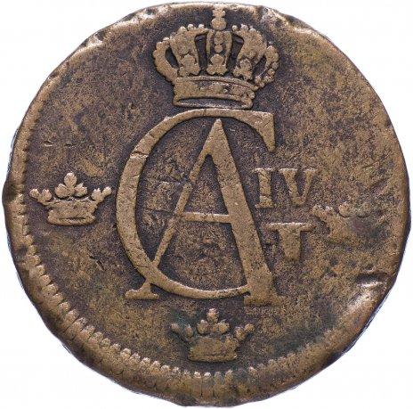 купить Швеция 1/2 скиллинга 1803