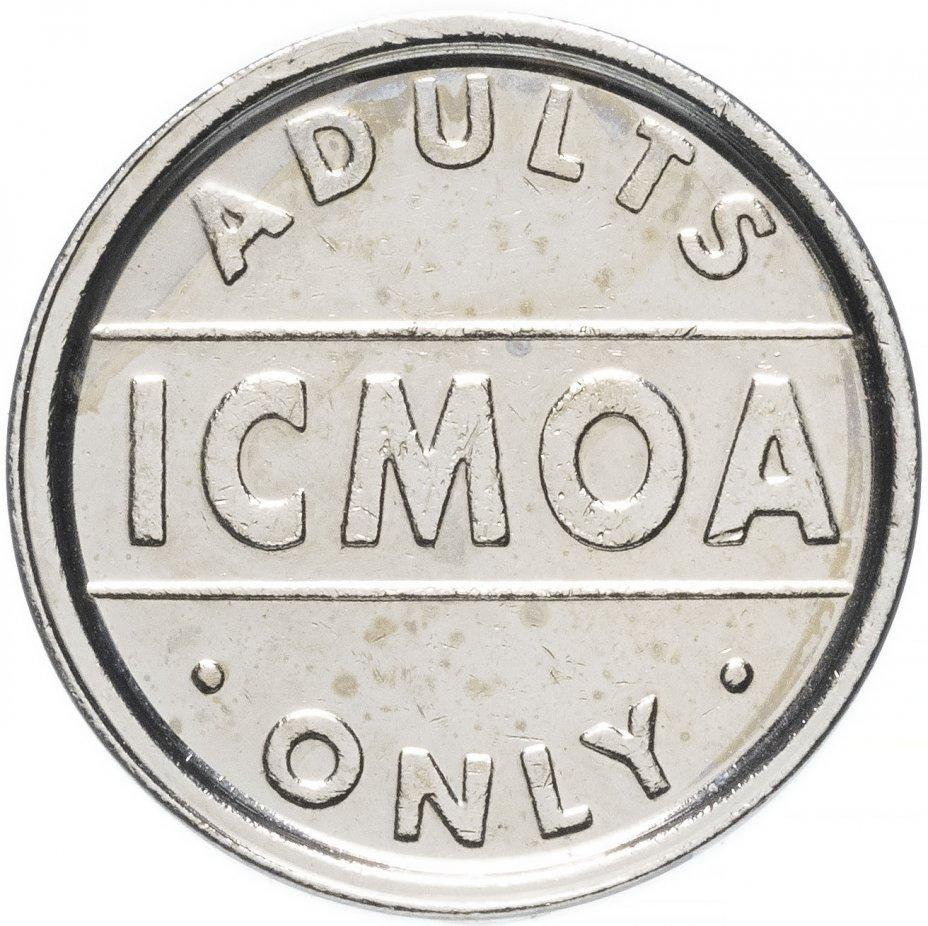 """купить Ирландия Сигаретный жетон """"Adults Only Icmoa ICMOA"""""""