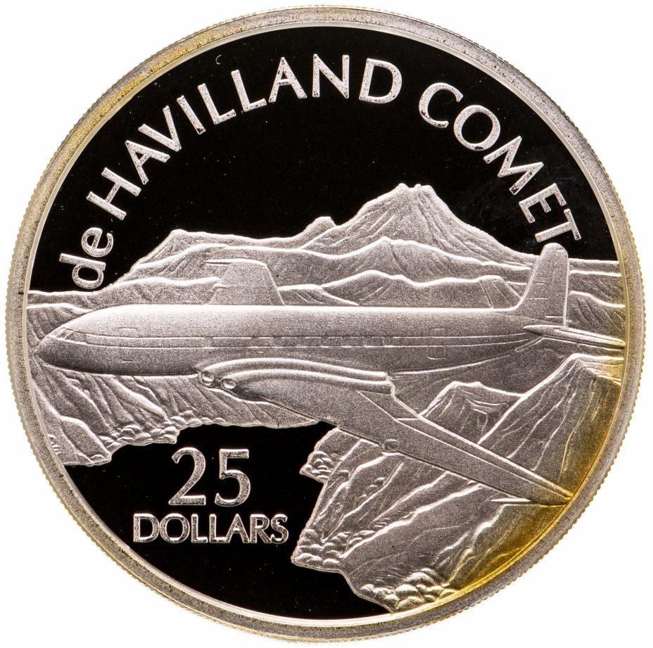 купить Соломоновы Острова 25 долларов (dollars) 2003  Самолёты - de Havilland Comet