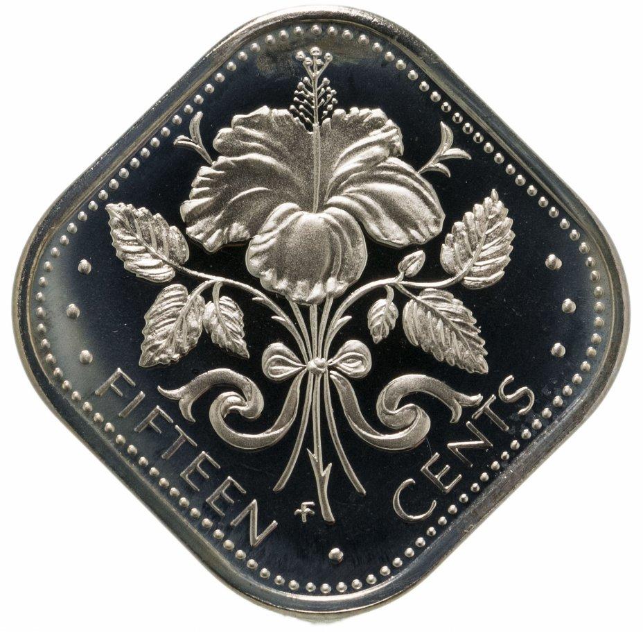 купить Багамы 15 центов (cents) 1974