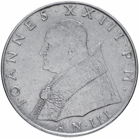 купить Ватикан 100 лир 1961
