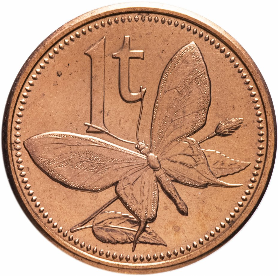 купить Папуа-Новая Гвинея 1 тойя 2004 Птицекрыл