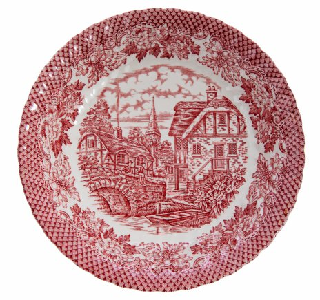 "купить Тарелка декоративная ""Merrie Olde"", фарфор, Англия, 1970-1990 гг."