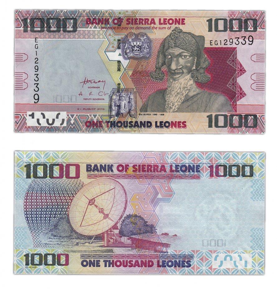 купить Сьерра-Леоне 1000 леоне 2013 (Pick 30b)