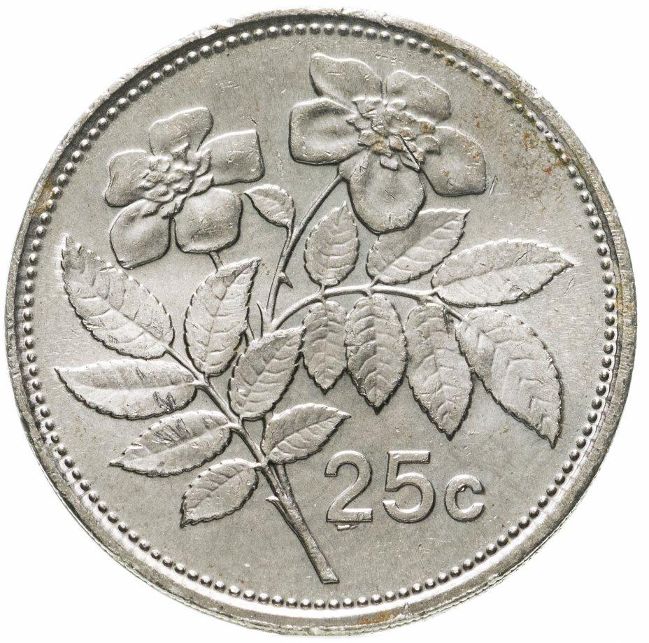 купить Мальта 25 центов (cents) 1986