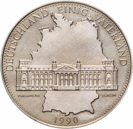 """купить Германия (ФРГ), медаль 1990 """"Парламент"""" """"Германское Объединённое Отечество"""""""