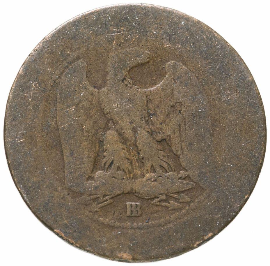 купить Франция 5сантимов (centimes) 1865 BB