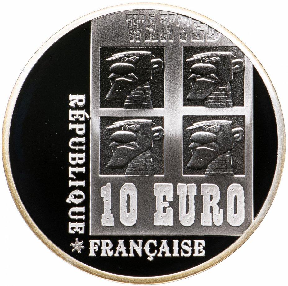 """купить Франция 10 евро 2009 """"Герой комиксов - Счастливчик Люк"""""""
