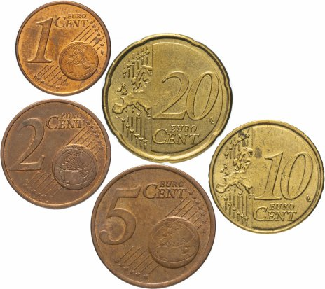 купить Франция полный годовой набор евро 2010 (5 монет, из обращения)