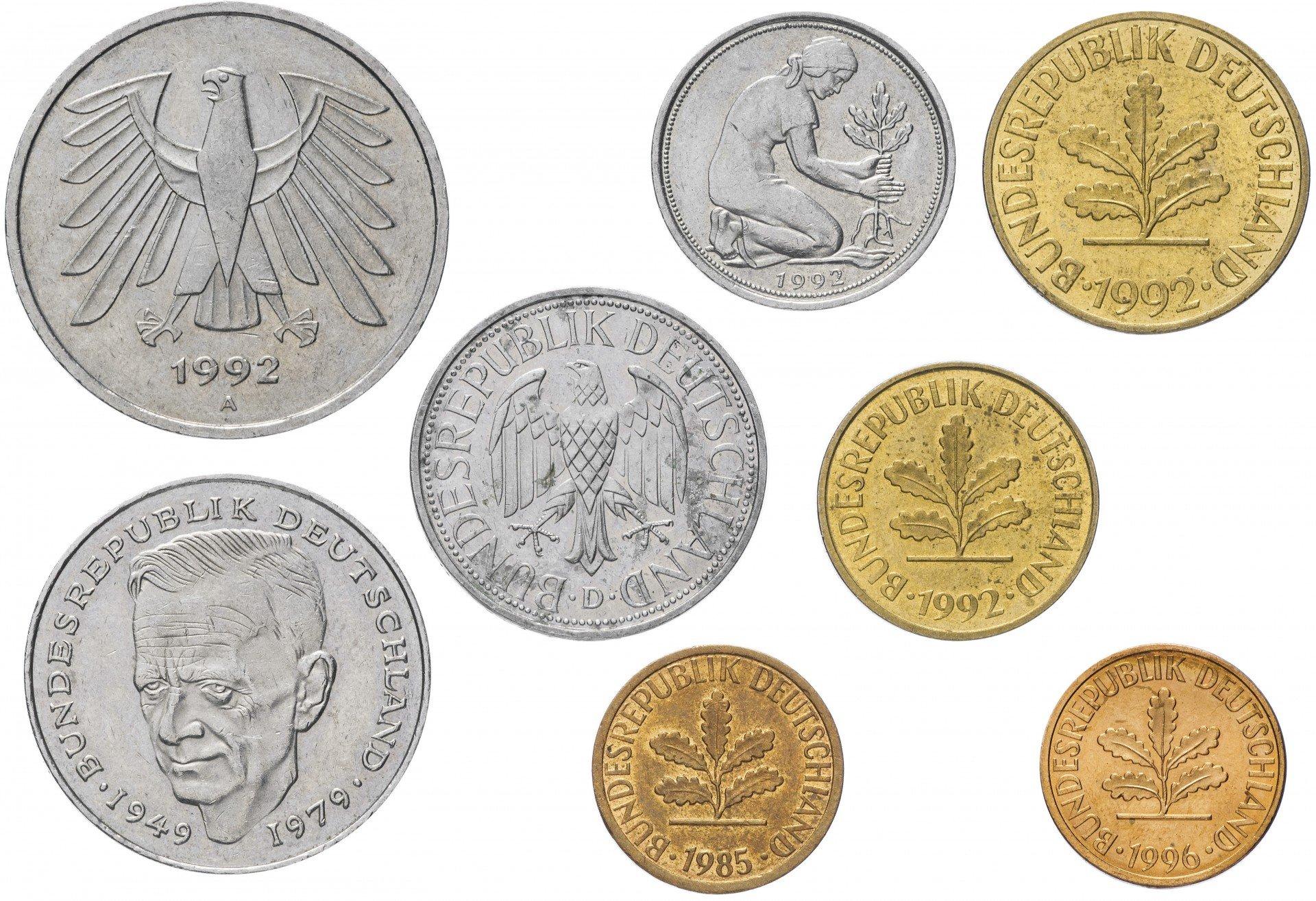 Купить монеты марки фрг монеты россии стоимость каталог 1992