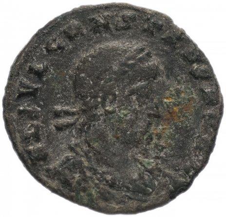 купить Римская Империя Констант 333–350 гг фоллис (реверс: два воина стоят лицом друг к другу, между ними два штандарта)