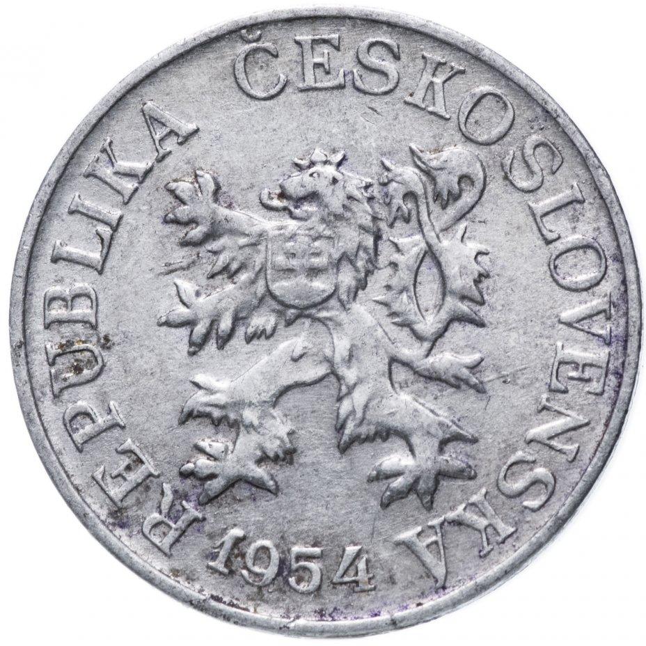 купить Чехословакия 3 геллера 1954