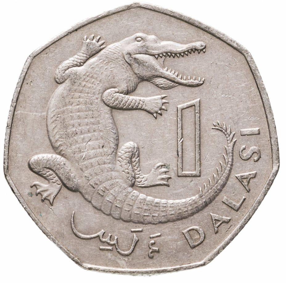 купить Гамбия 1 даласи (dalasi) 1987