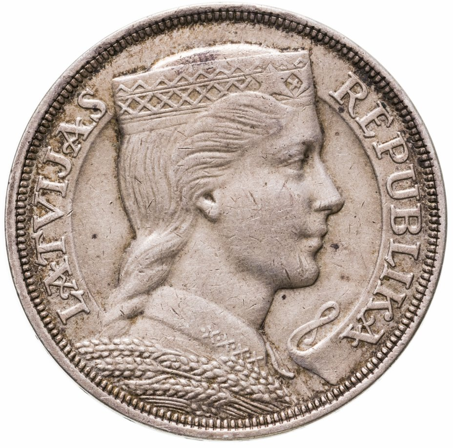 купить Латвия 5 латов 1931