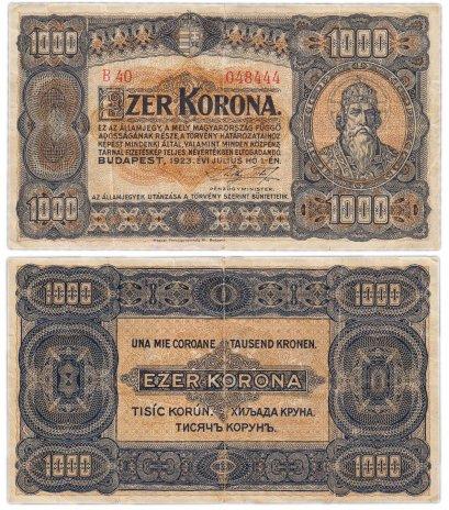 купить Венгрия 1000 крон 1923 (Pick 75а)