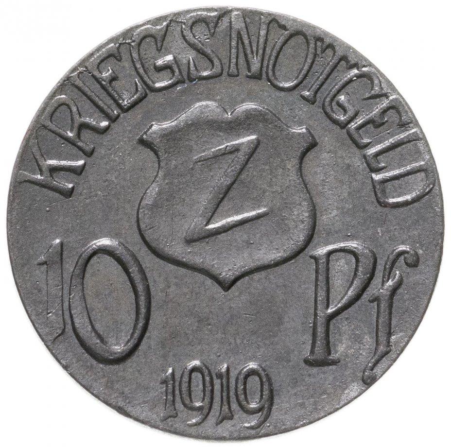 купить Германия (Вольфах) нотгельд 10 пфеннигов 1919