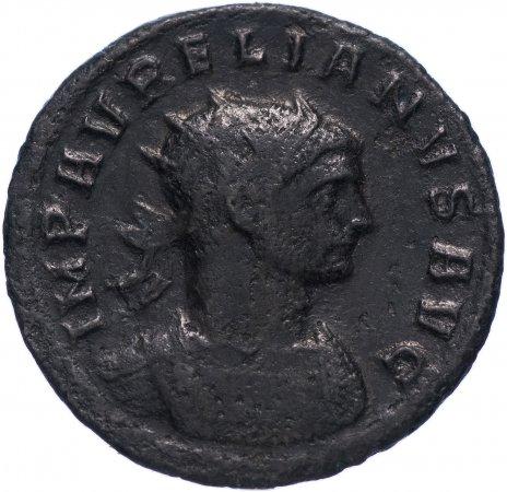 купить Римская Империя Аврелиан 270–275 гг антониниан (реверс: женская фигура передает венок императору)