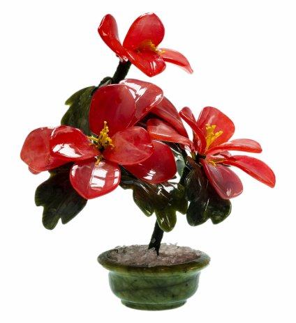 купить Цветы из кальцита 21х16 см