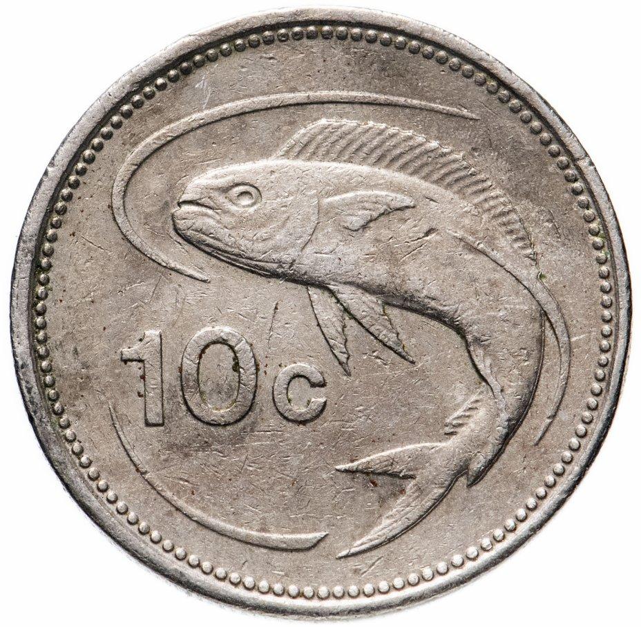купить Мальта 10 центов (cents) 1986 (лодка)