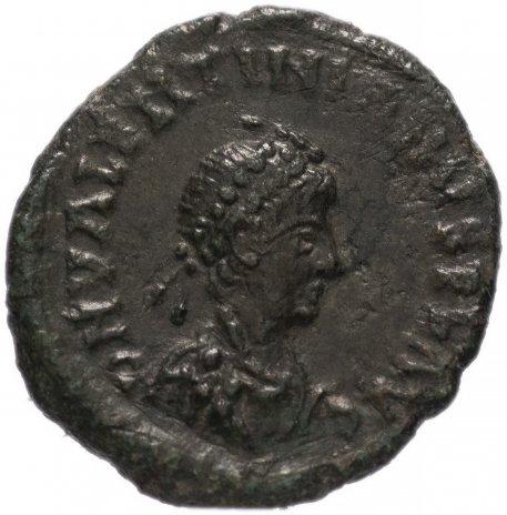 купить Римская Империя Валентиниан II 375-392 гг 4 или 5 денариев (реверс: легенда обрамлена венком)