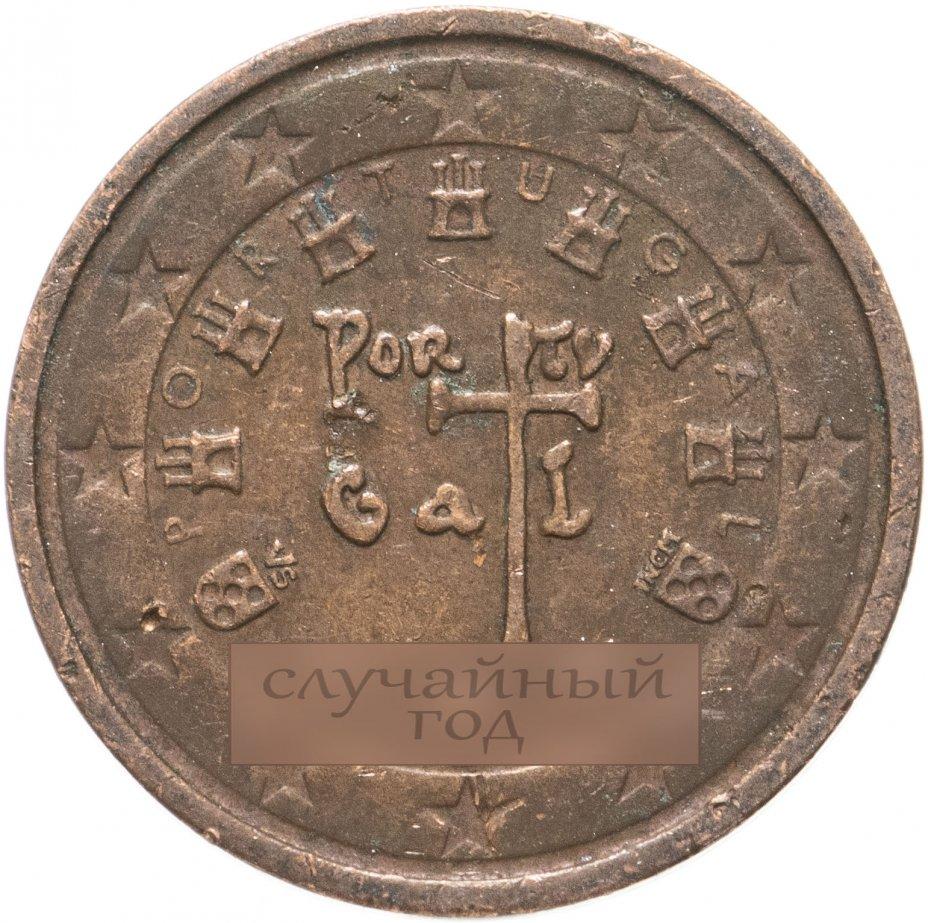купить Португалия 2 евро цента (euro cent) 2002-2021, случайная дата