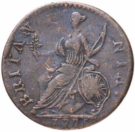 купить Великобритания 1/2  пенни 1775