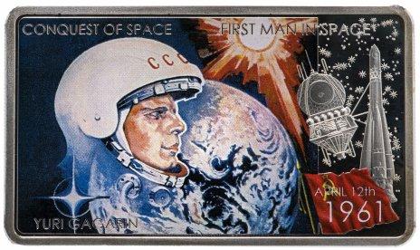 купить Ниуэ 2 доллара 2011 «Гагарин»