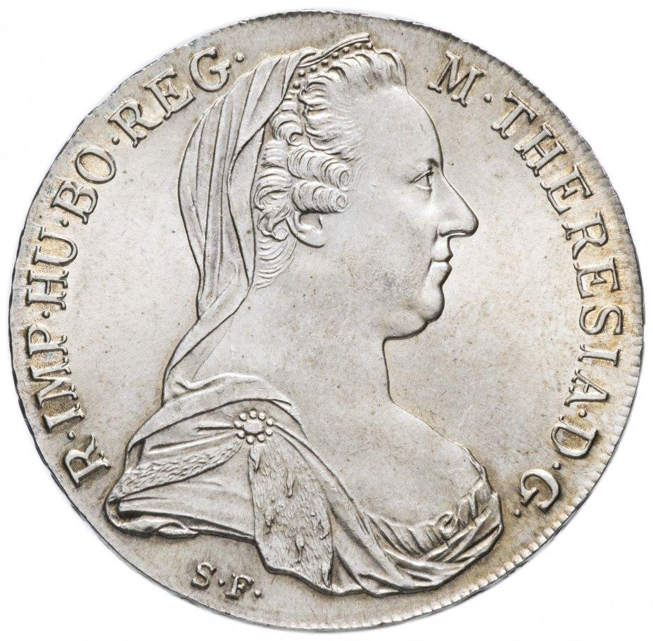 купить Рестрайк талера Марии Терезии 1780 года