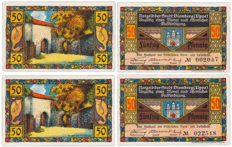 купить Германия (разные земли) набор из 2-х нотгельдов 1918-1922