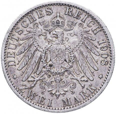 купить Германия (Пруссия) 2 марки 1908