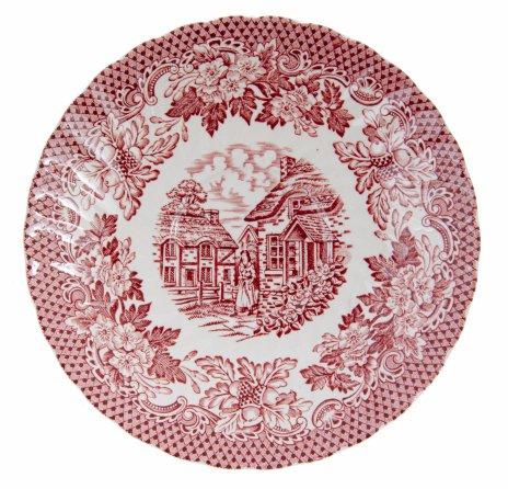 "купить Тарелка декоративная ""Merrie Olde"", фарфор, деколь, Англия, 1970-1990 гг."