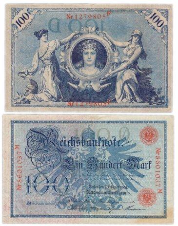 купить Германия 100 марок 1910 (Pick 33)