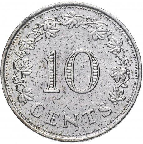 купить Мальта 10 центов 1972