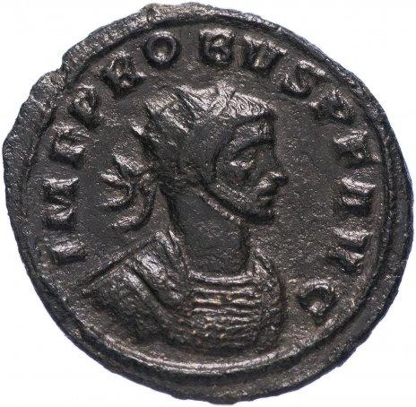 купить Римская Империя Проб 276–282 гг антониниан (реверс: Пакс стоит, в руках - ветвь и скипетр)