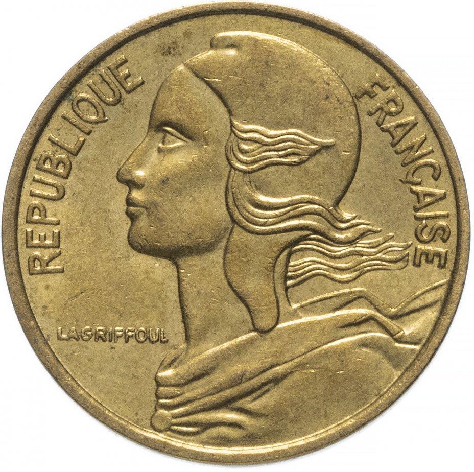 купить Франция 5сантимов (centimes) 1966-2001