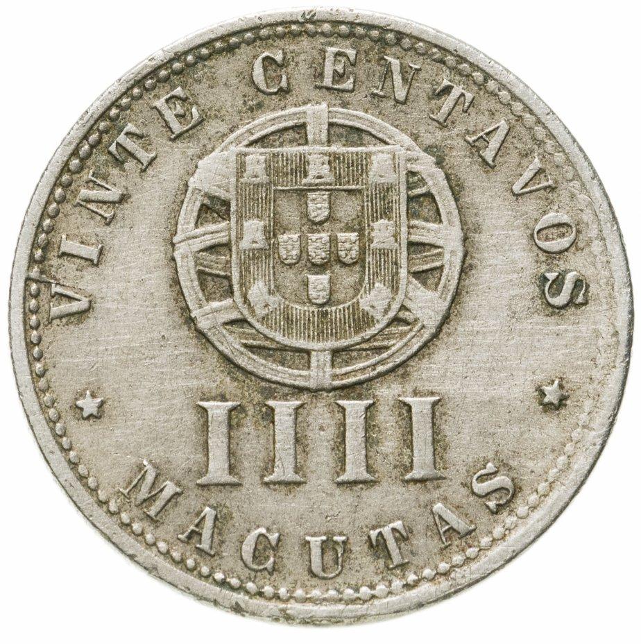 купить Португальская Ангола 20 сентаво (4 макута) 1927
