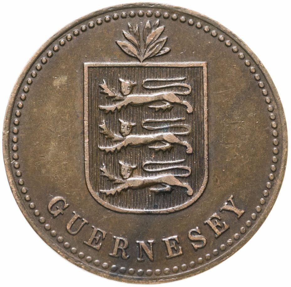 купить Гернси 4 дубля (doubles) 1914