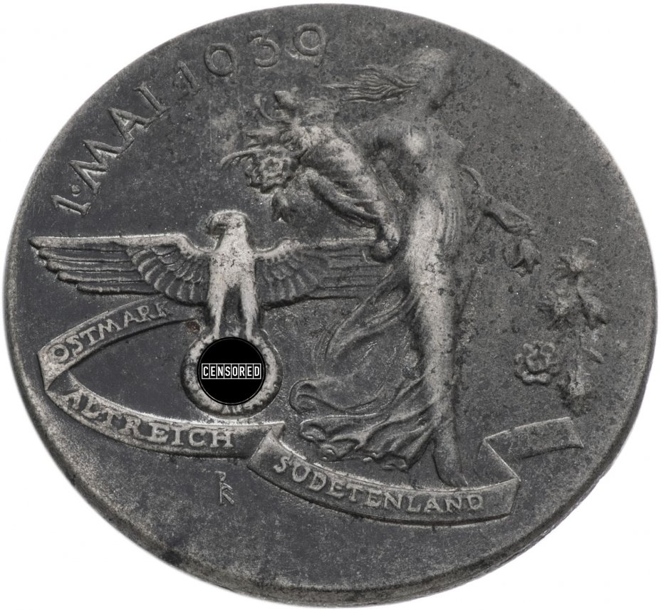 """купить Германия, Третий рейх памятный знак """"День труда, 1 мая"""" 1939, булавка"""