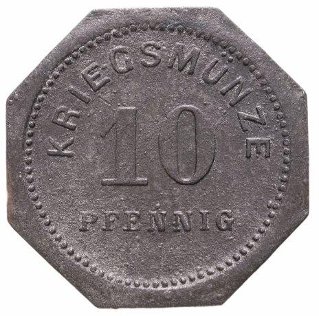 купить Германия (Бенсхайм) нотгельд  10 пфеннигов 1917